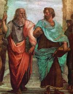 Rafael: Plato and Aristotle in the Academie